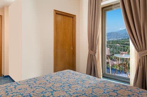 Rooms with private balcony Sorrento Italy